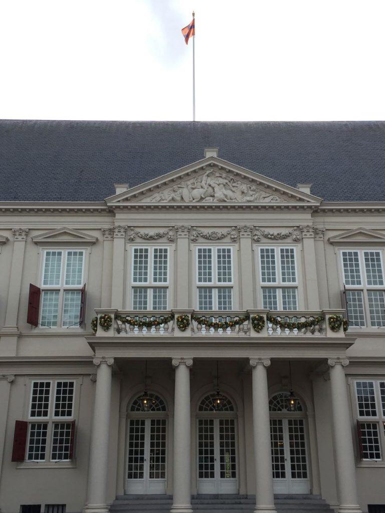 Koninklijke wandeling - Paleis Noordeinde
