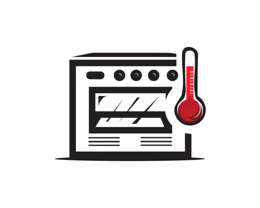 meten en wegen oventemperatuur