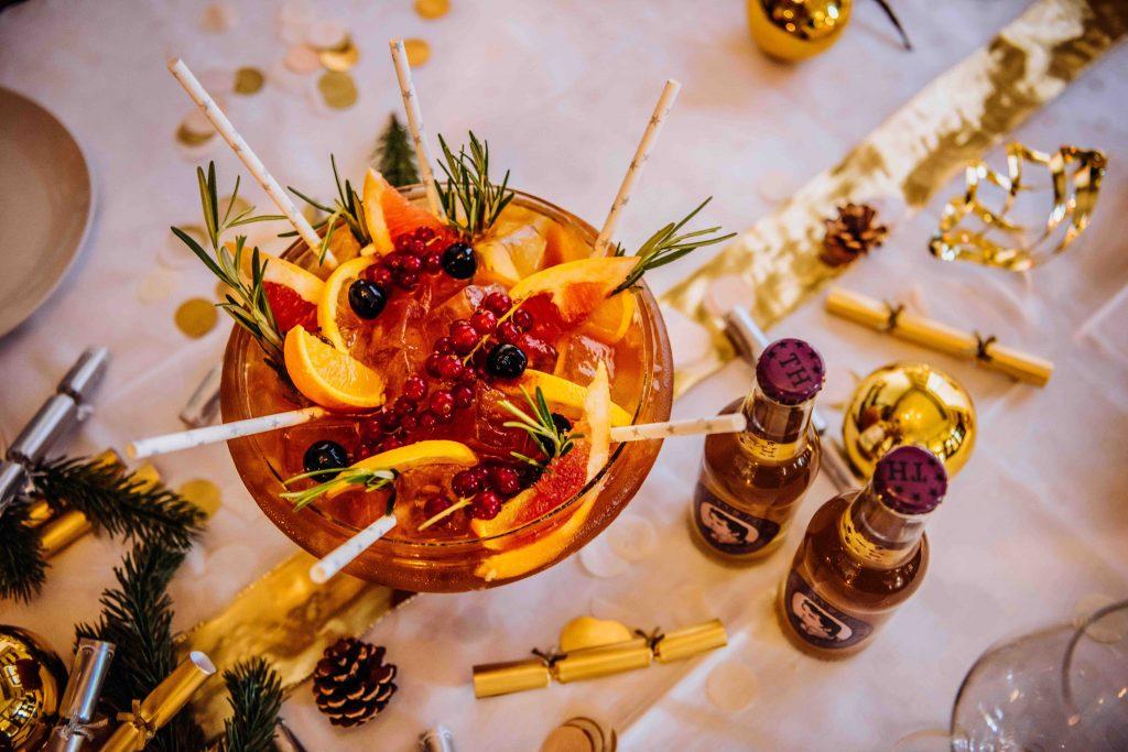 winter cocktails: christmas cracker