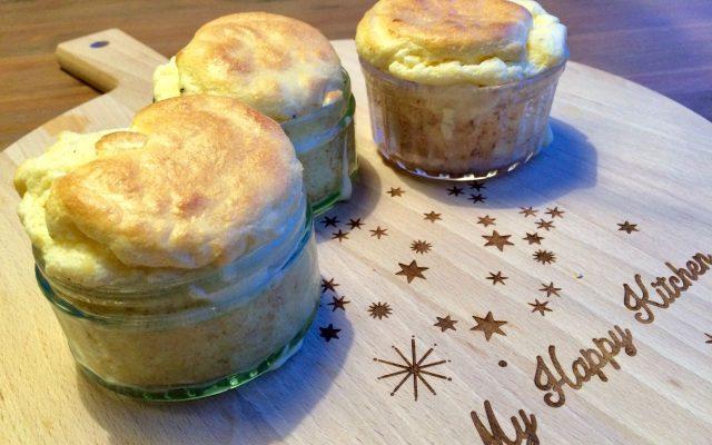 Hartige soufflé met Rotterdamsche oude kaas