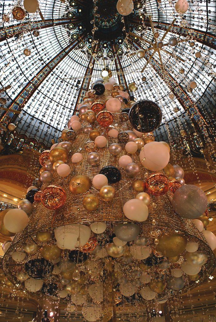 kerstshoppen Parijs