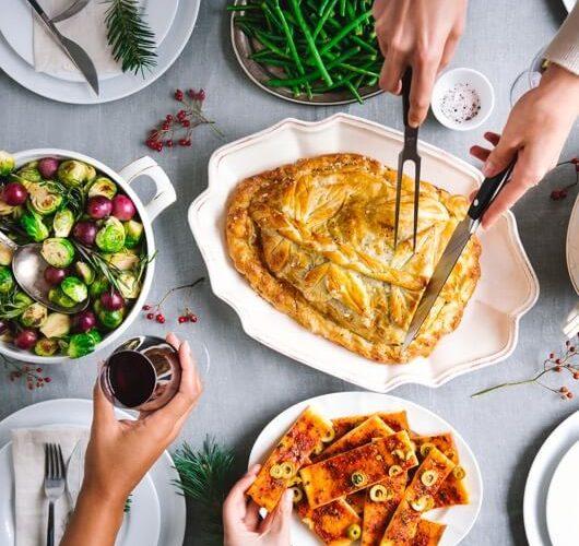 Wat eten we met kerst versus eten we met kerst? Doneer aan de voedselbank!