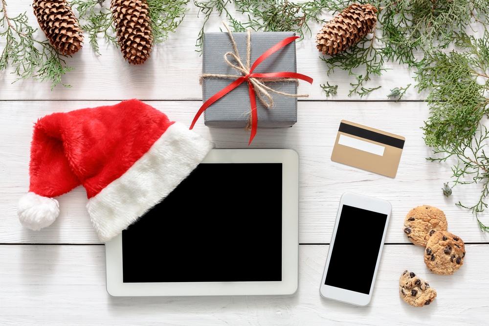 online kerst shoppen voor de december maand