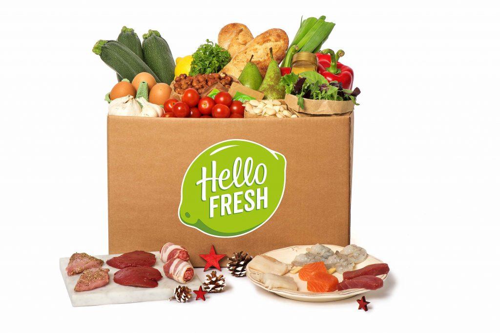 Hello Fresh kerstmaaltijdbox