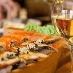 Wijn drinken bij Aziatisch eten