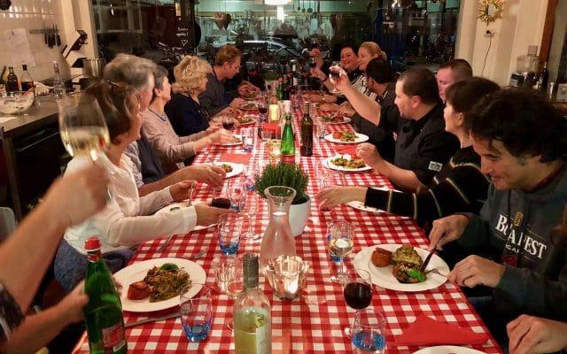Kookworkshop Siciliaanse keuken (+ recept crostini amandelpesto!)