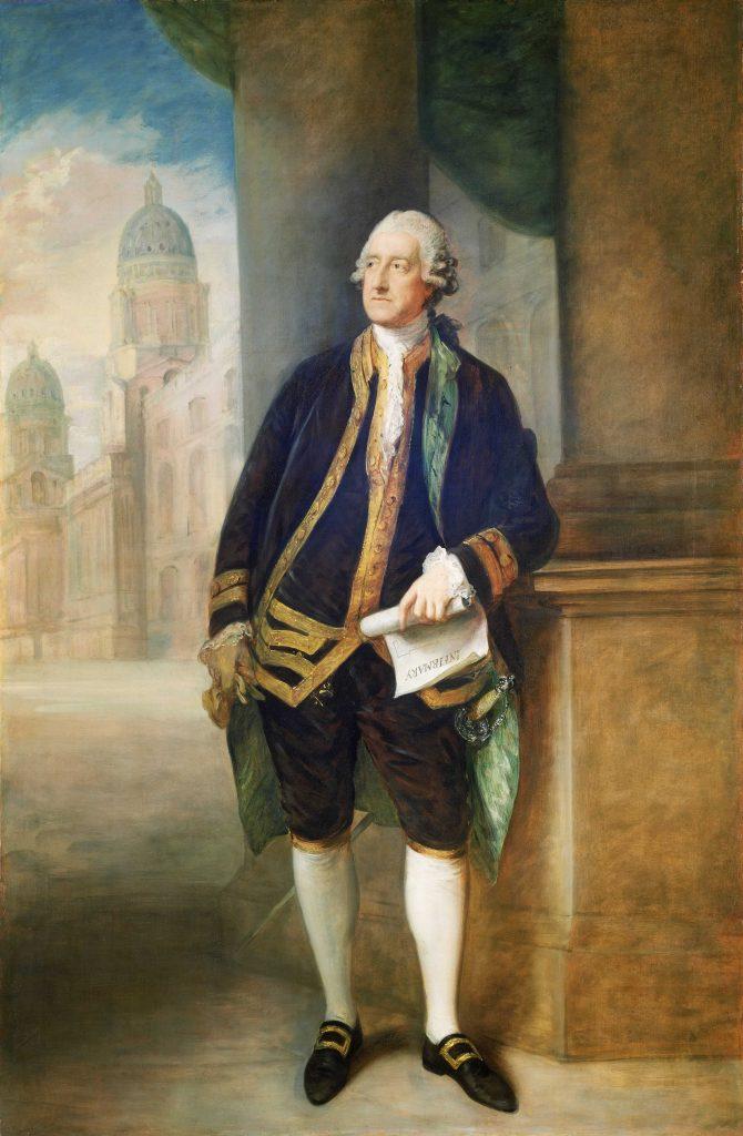 John Montagu, de graaf van Sandwich