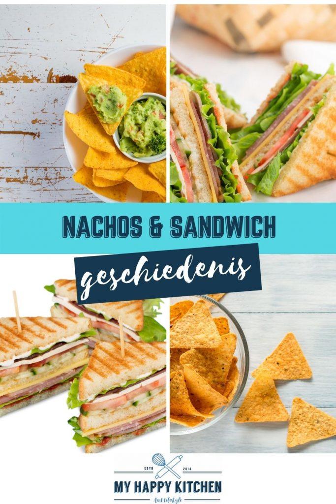 Pinterest pin nachos en sandwich