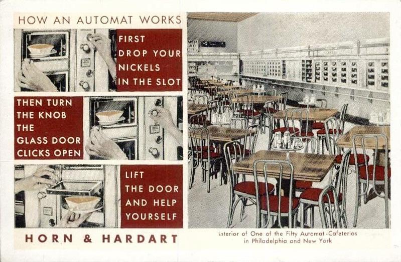 Geschiedenis van de automatiek en snacks