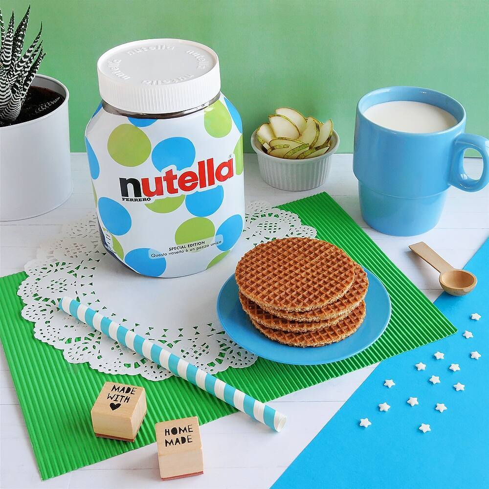 Nutella limited edition pot