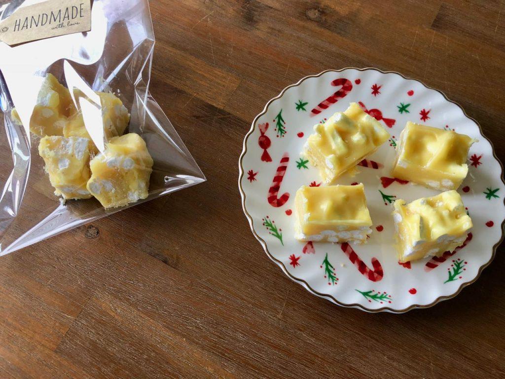 lemon meringue fudge