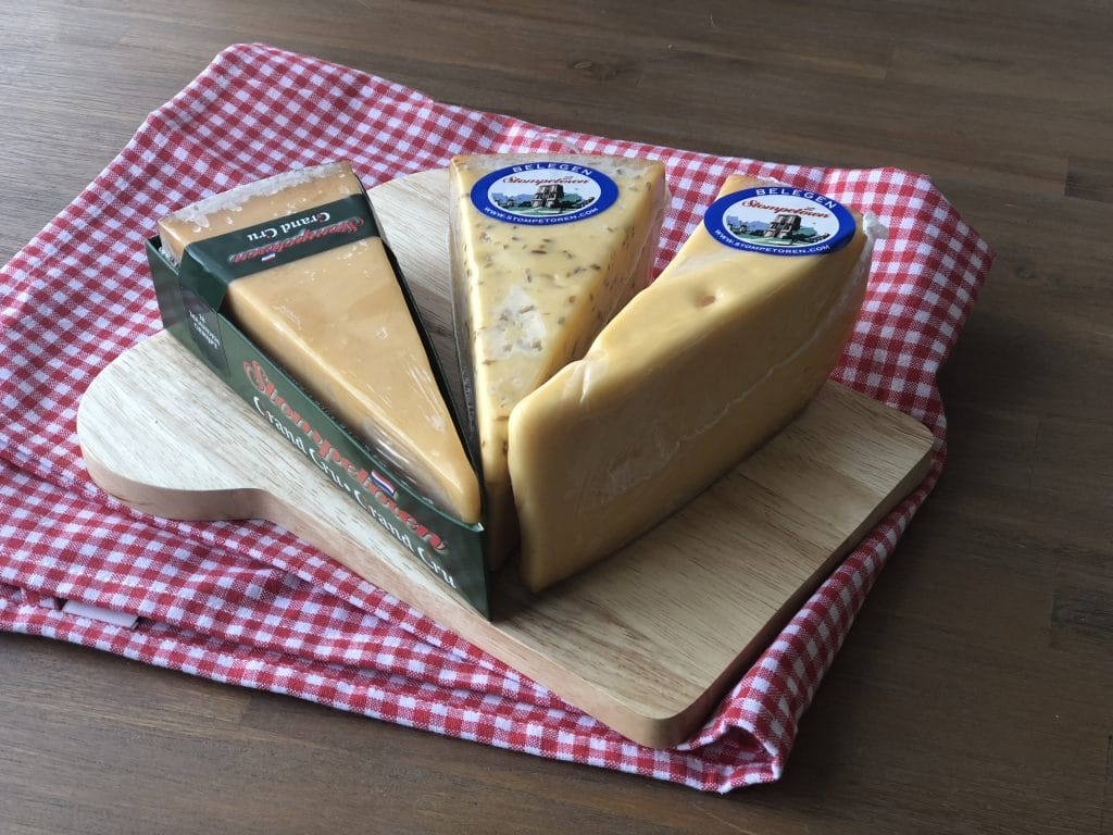 Wortelkaassoufflé van Stompetoren kaas