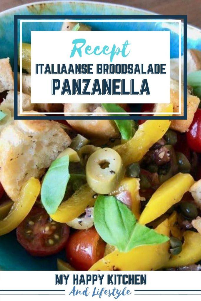 Pinterest pin panzanella