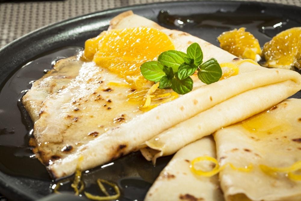 Geschiedenis van beroemde gerechten: crepes suzette