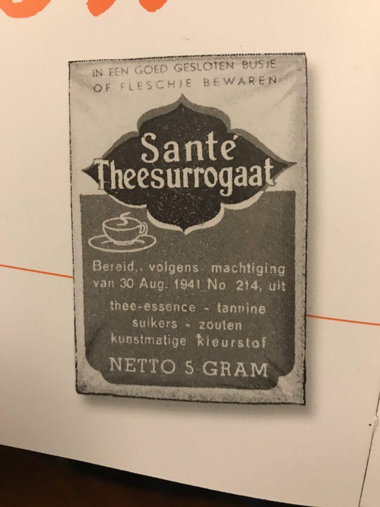 geschiedenis van Honig: surrogaat thee