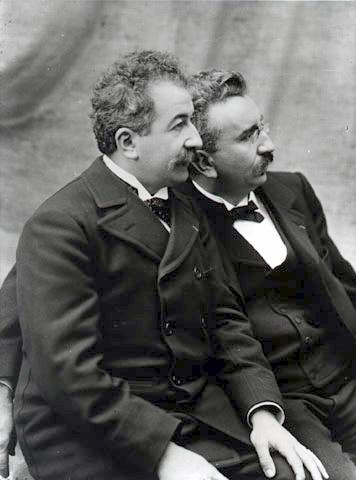 geschiedenis van de bioscoop - Lumiere broers