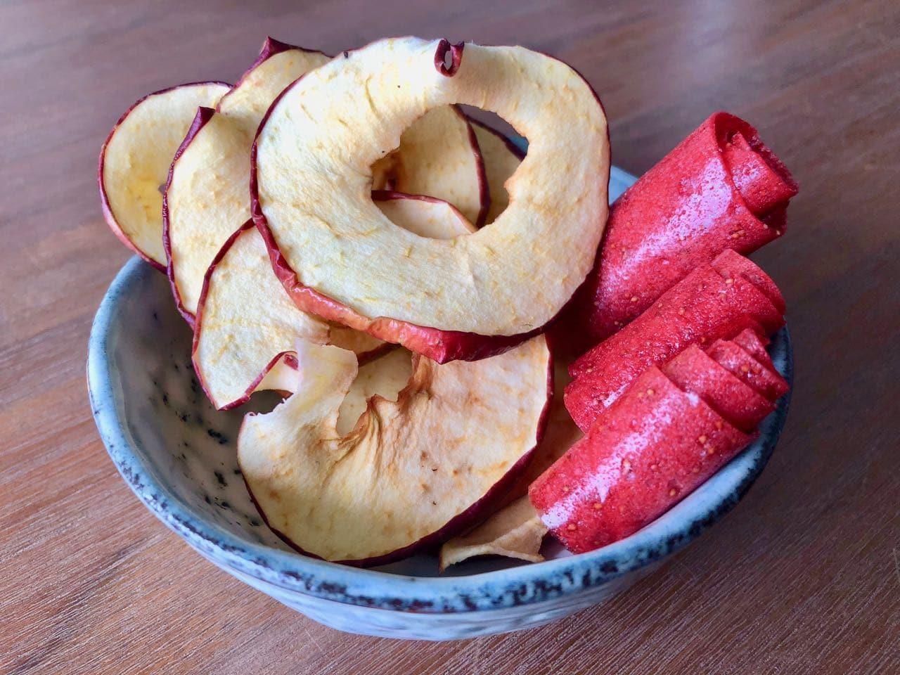 Voedsel drogen in de droogoven: fruitleer