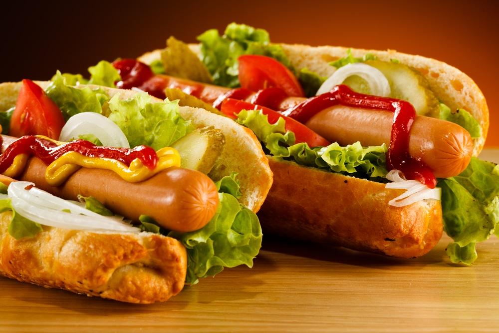 geschiedenis van beroemde gerechten: hotdog