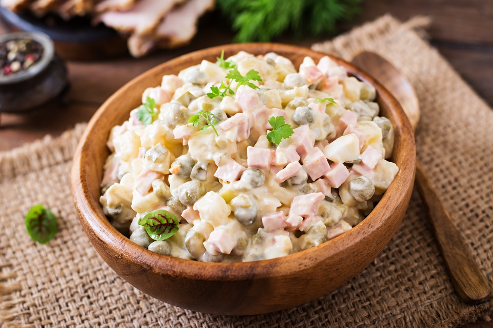 Geschiedenis van beroemde gerechten: huzarensalade