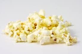 geschiedenis van de bioscoop - popcorn