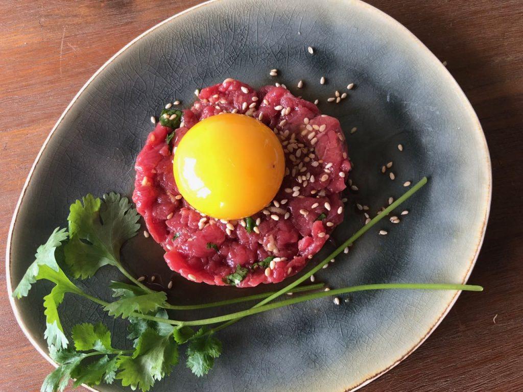 Aziatische steak tartare