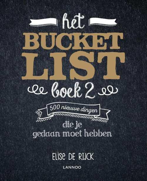 bucketlistboek