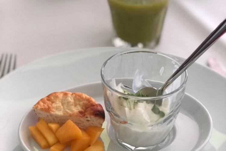 Lunch op Papendal met Campina magere kwark