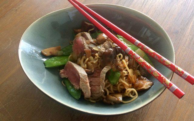 tien minuten maaltijd: noodles