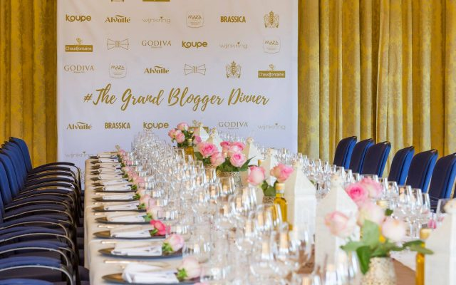 The Grand Blogger Diner in het Amstel hotel