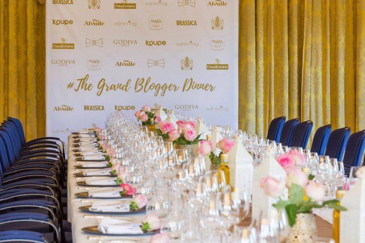 The Grand Blogger Diner in het Amstel hotel
