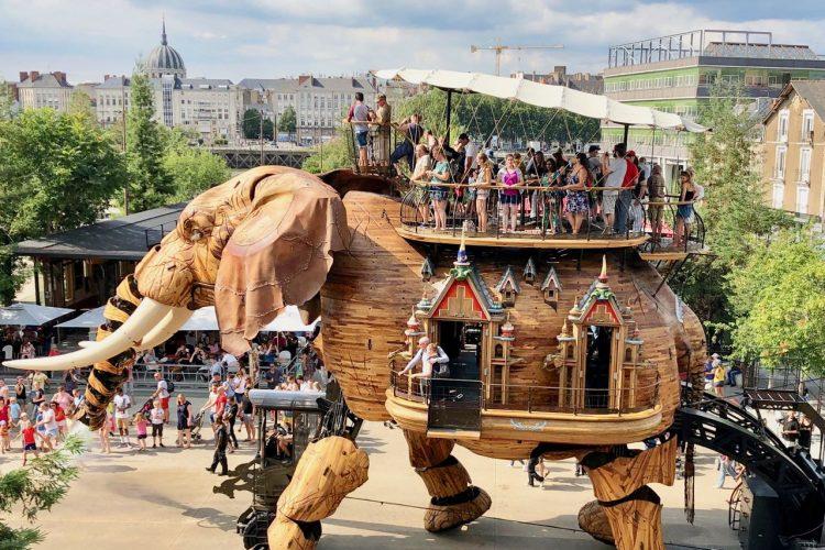 Les Machines de L'île in Nantes – de wondere wereld van Jules Verne