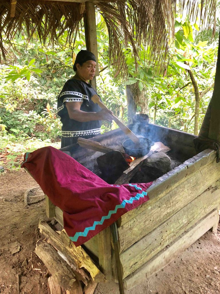 cacao bonen branden