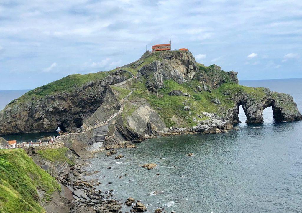 roadtrip door Spanje en Portugal: Gaztelugatxe