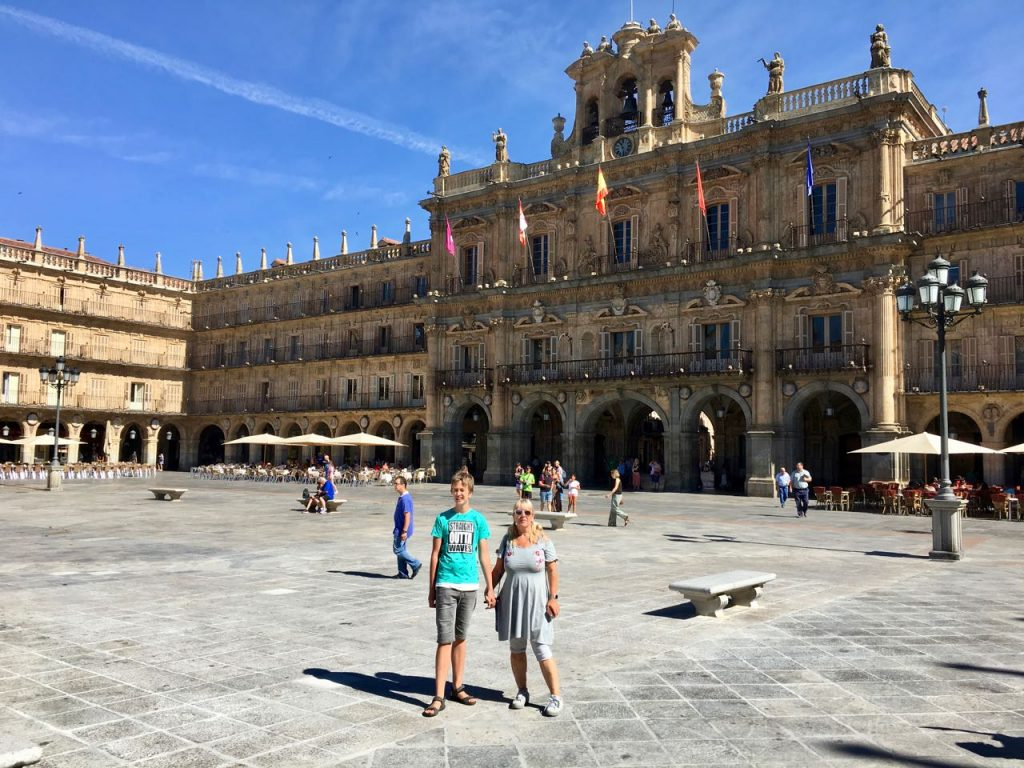 Rondreis door Spanje en Portugal: Salamanca