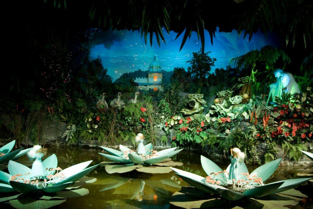 geschiedenis van de Efteling - Indische waterlelies