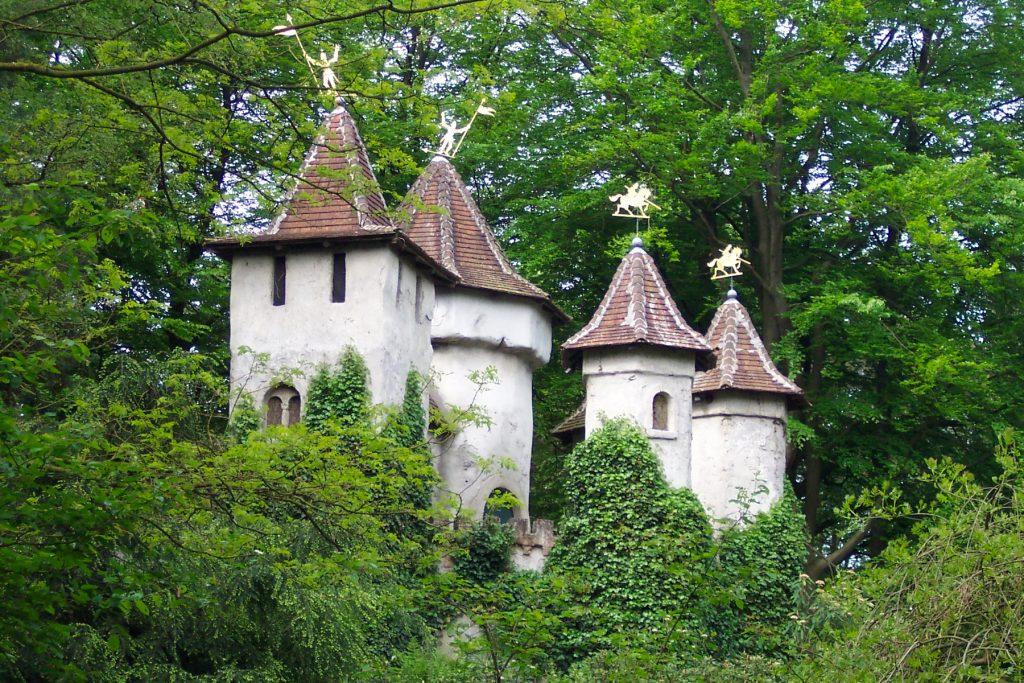 geschiedenis van de Efteling: kasteel van Doornroosje