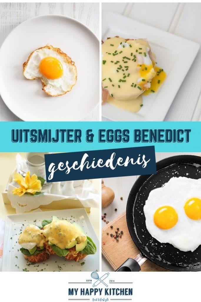 Pinterest pin uitsmijter en eggs benedict