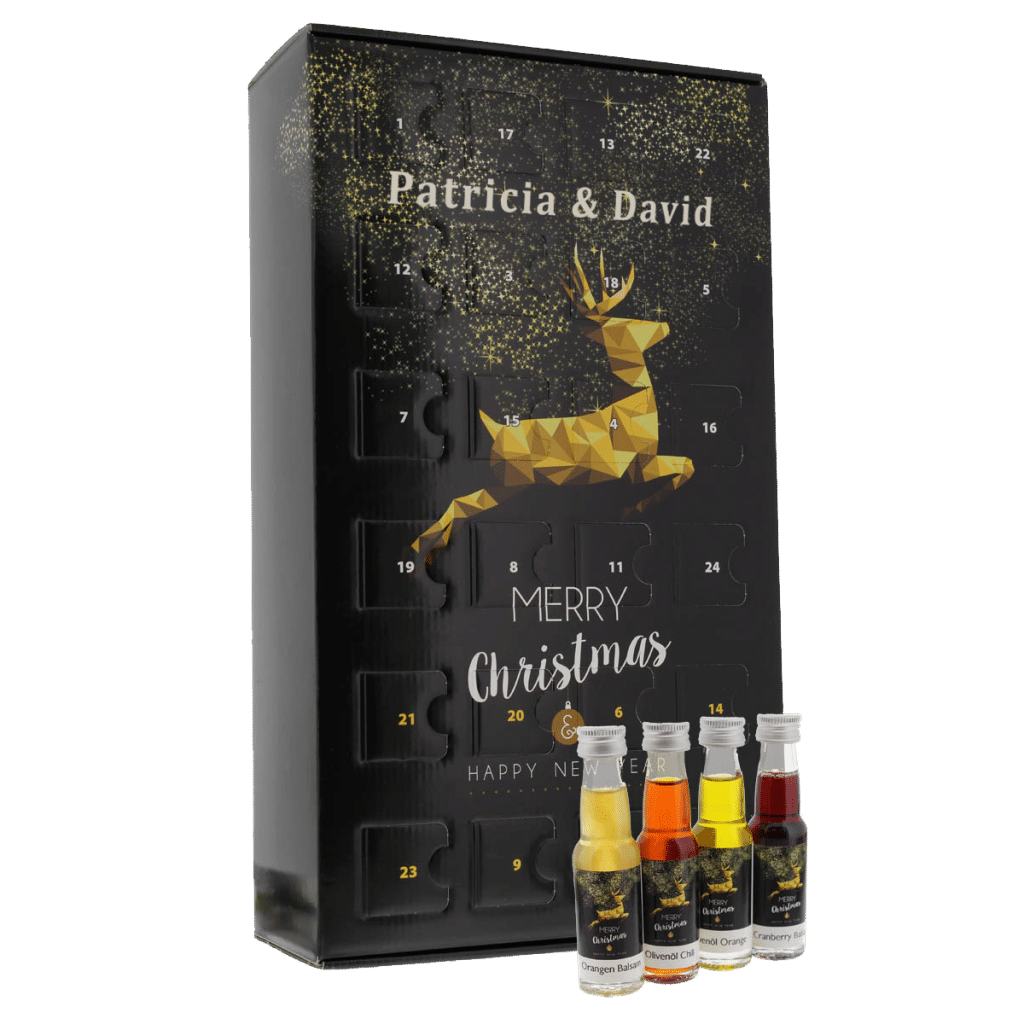 Culinaire adventskalenders: olie