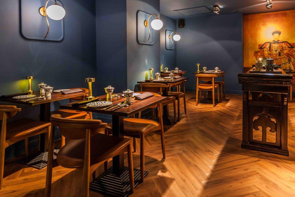 restaurant zheng interieur