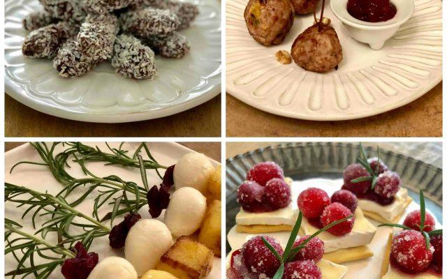 Vier heerlijke hapjes voor de kerstborrel