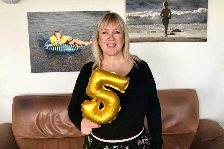 Feestweek: vijf jaar My happy kitchen & lifestyle!
