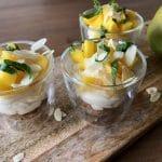 Lemoncurdmousse met mango