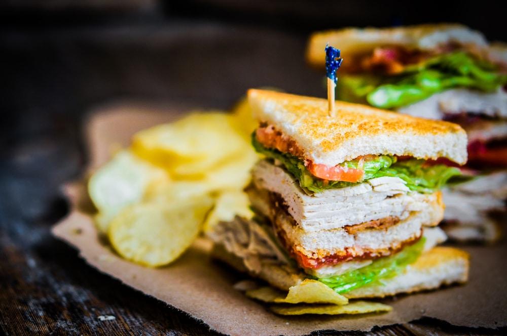 geschiedenis van beroemde gerechten - club sandwich
