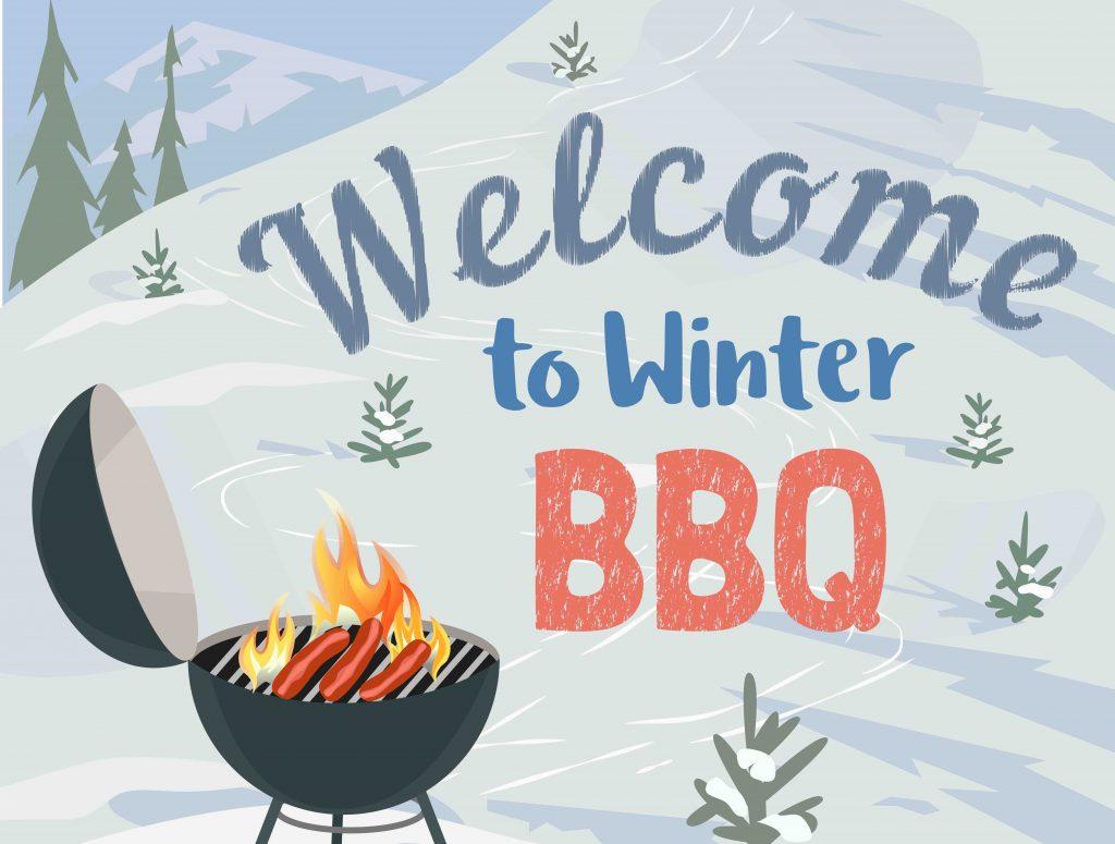 winter barbecue uitnodiging