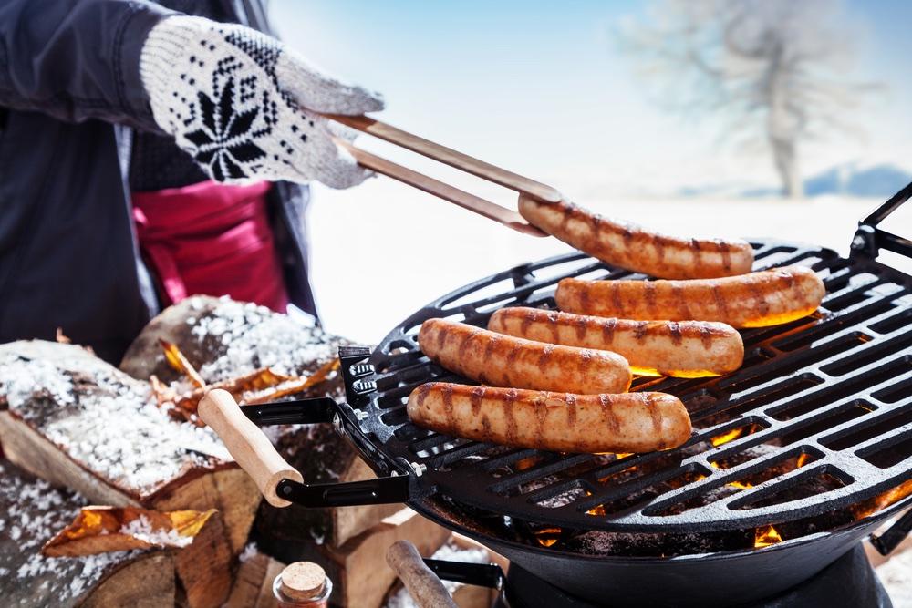 winter barbecue - barbecueën het hele jaar
