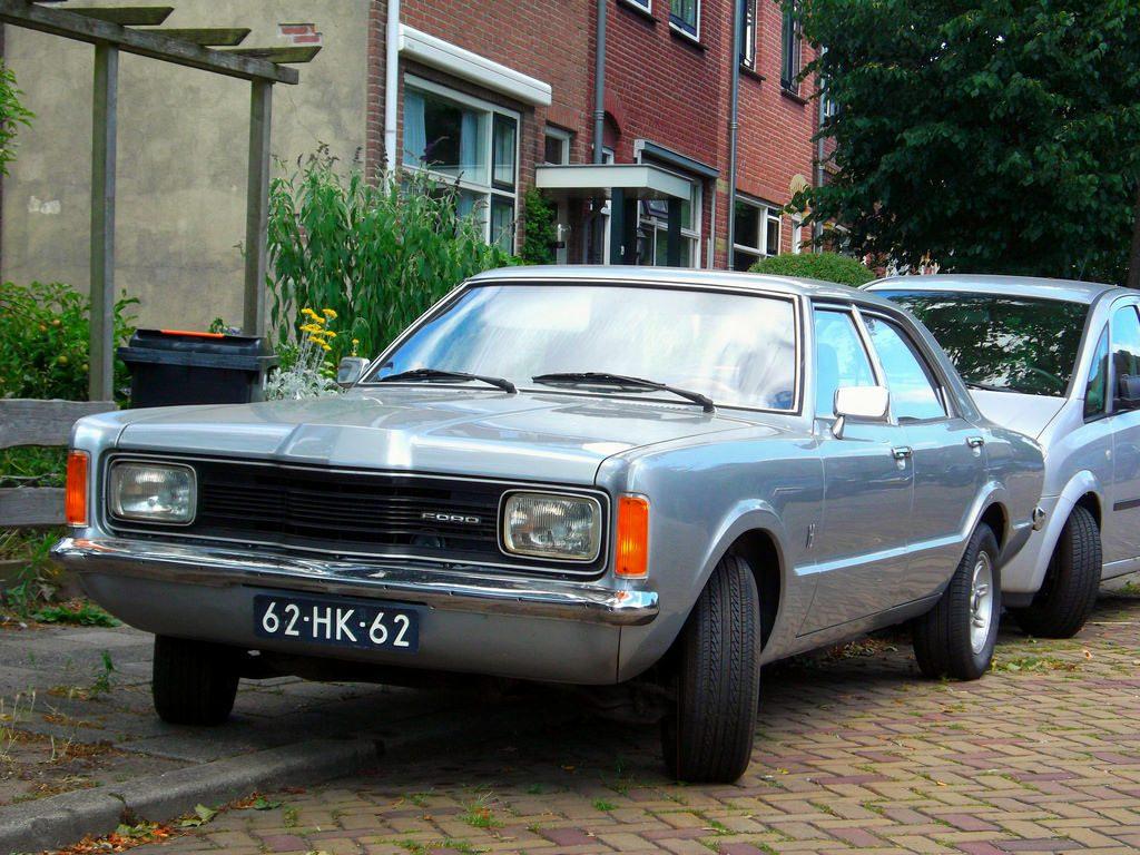 dagelijks leven in de jaren 70 - ford taunus