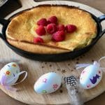 Dutch baby of pannenkoek uit de oven