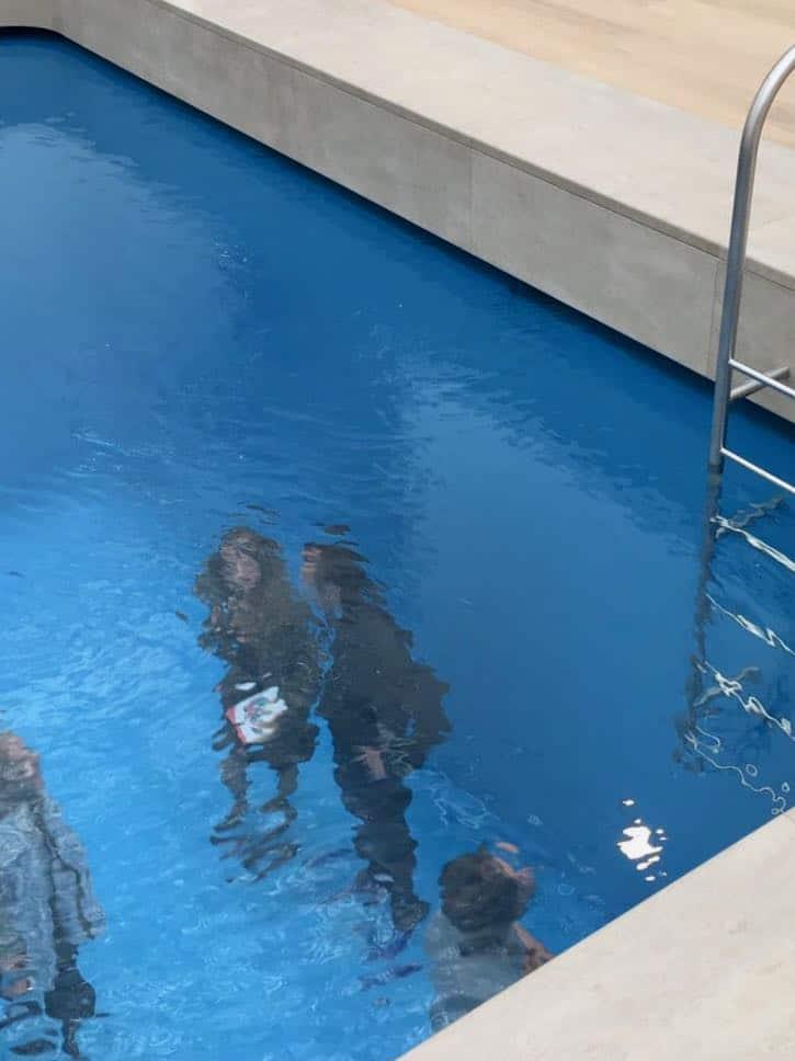 museum voorlinden - zwembad