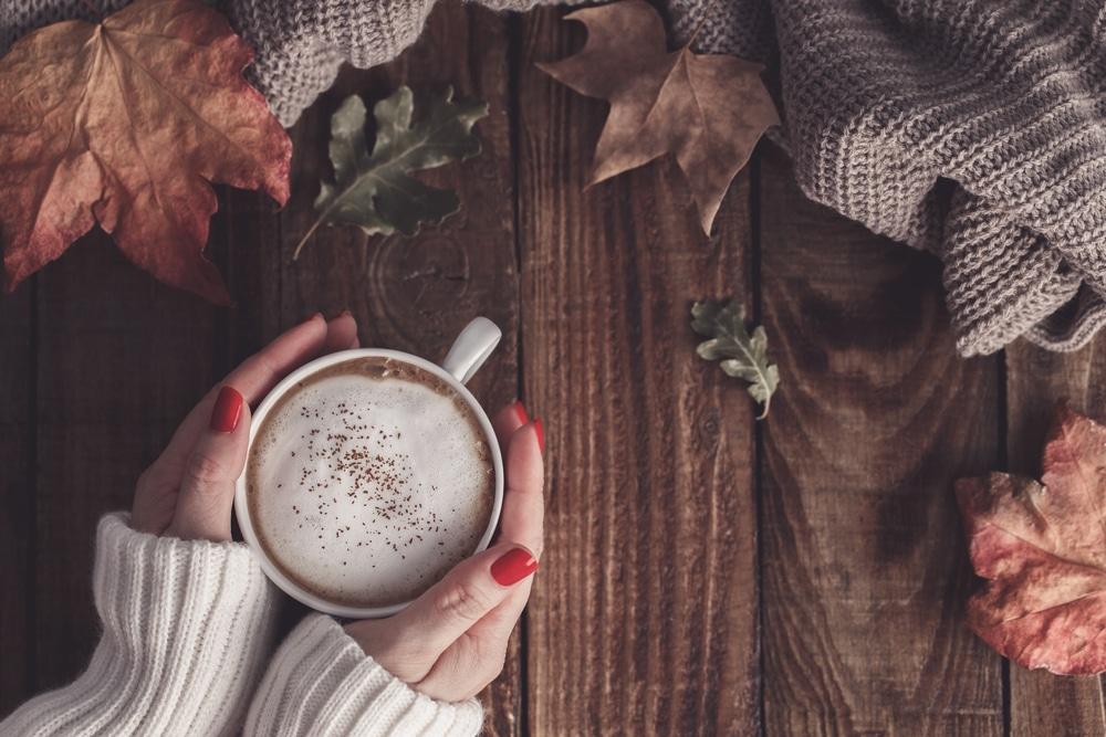 gezond gelukkig cappuccino