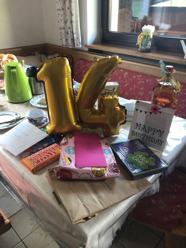 Bodhi's verjaardag